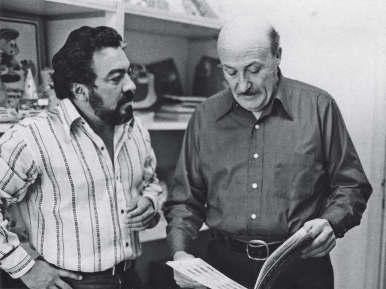 Mauricio de Sousa e Will Eisner