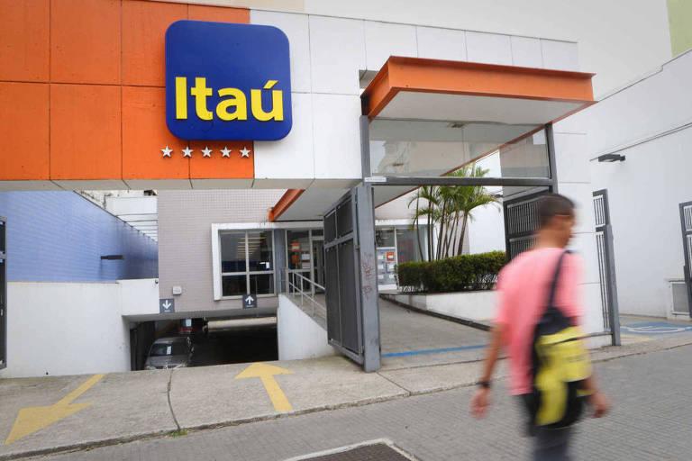 Agência do banco Itaú no centro de São Paulo