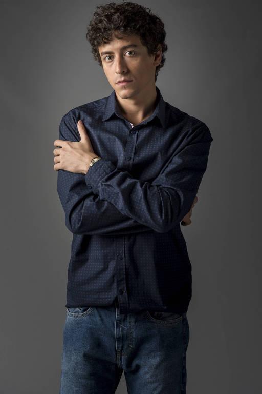 O ator Jesuíta Barbosa que interpreta Ramirinho em