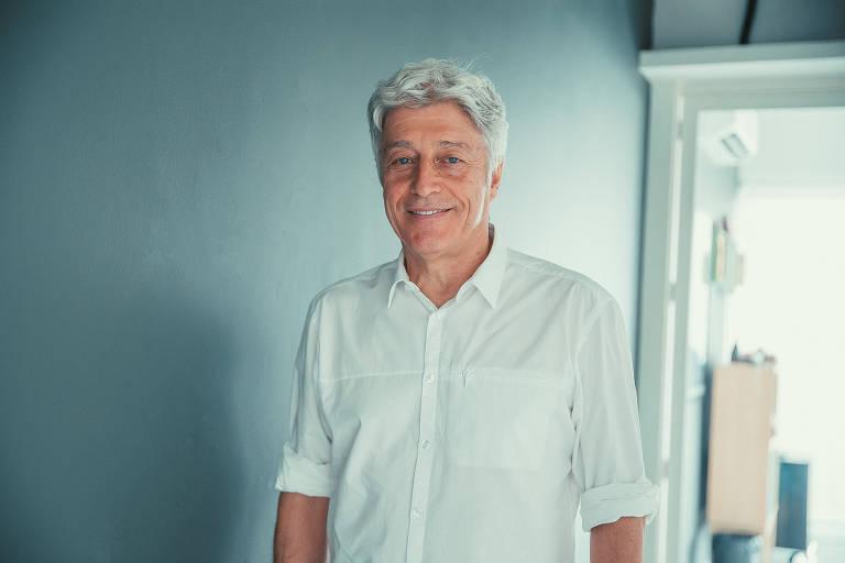 O jornalista Caco Barcellos