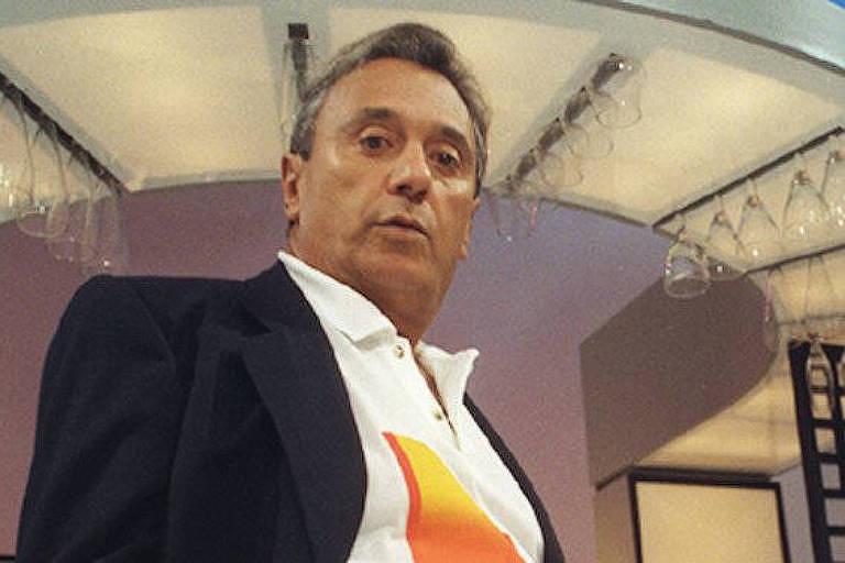 O humorista Agildo Ribeiro