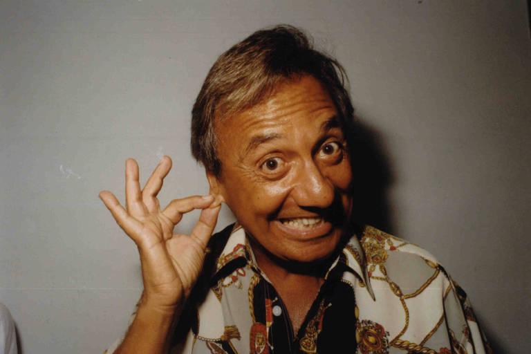 O humorista Agildo Ribeiro em 1993