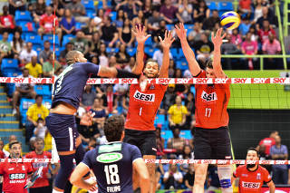 Final vôlei Superliga Cimed masculina