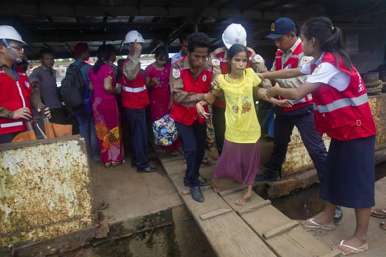 Delegação da ONU visita Bangladesh por crise dos rohingyas