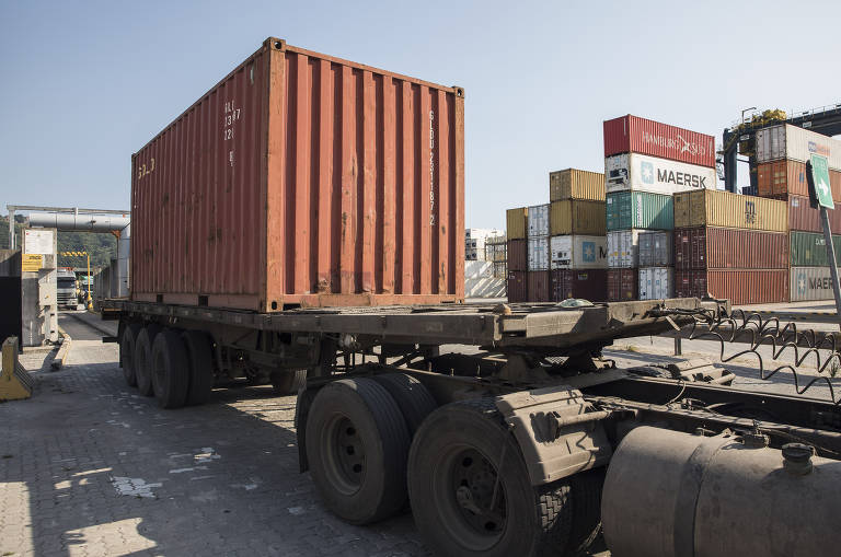 Combate ao tráfico no porto de Santos