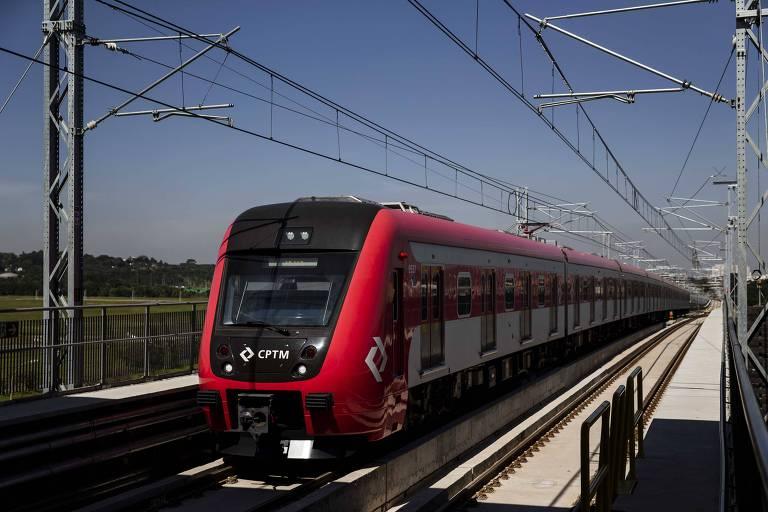 Paulistanos escolhem trem para chegar até Guarulhos