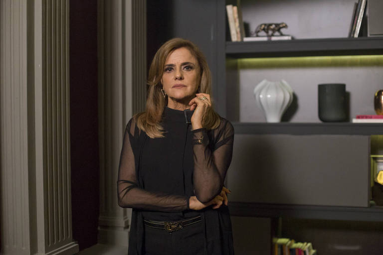 Marieta Severo como Sophia de 'O Outro Lado do Paraíso' (Globo)