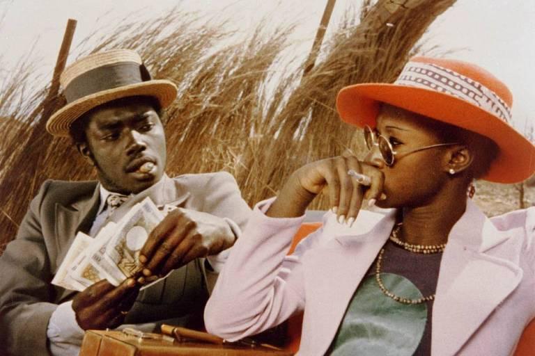 Cena do filme 'A Viagem da Hiena', de Djibril Diop Mambéty