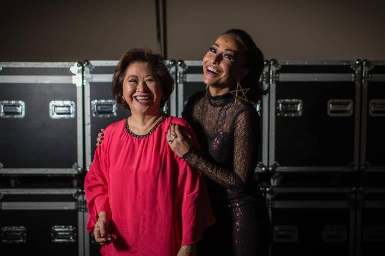 Kika Sato e Sabrina Sato, em foto de 2016