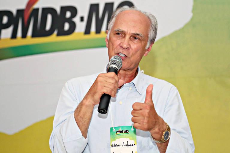 O vice-governador de Minas Gerais, Antonio Andrade (MDB)