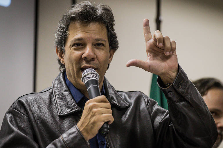 Fernando Haddad, ex-prefeito de São Paulo