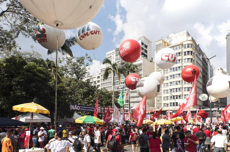 1º de Maio em São Paulo