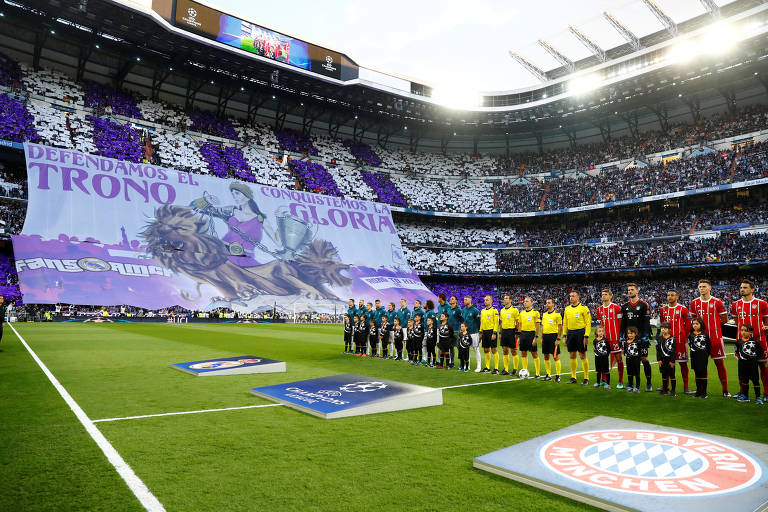 Real Madrid x Bayern de Munique