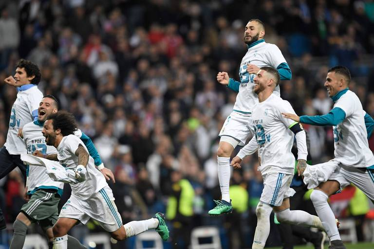 Real Madrid x Bayern de Munique