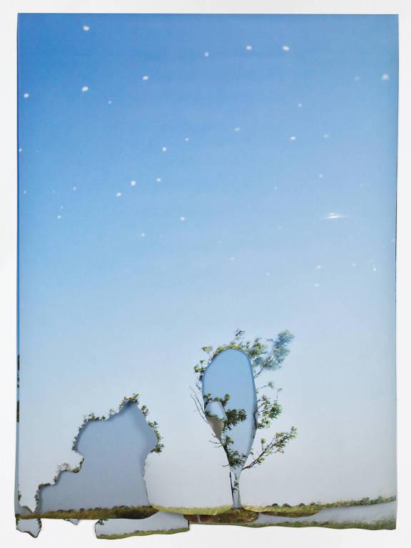 Obra de Julia Kater exposta na SIM Galeria