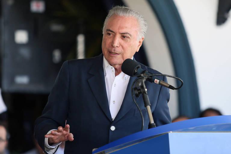 O presidente Michel Temer participou da solenidade de abertura da 84ª  Expozebu, na manhã deste 91a3597df7