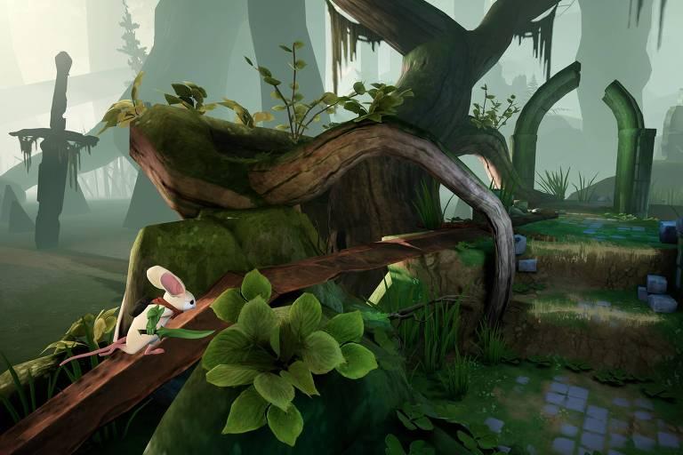 Moss, um novo videogame para o PlayStation VR