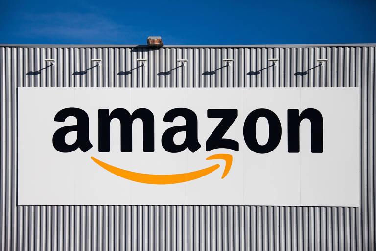 Logo da Amazon na França