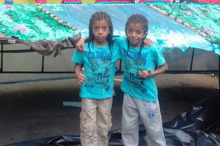 Filhos de Selma Almeida da Silva, também desaparecidos após desabamento de prédio