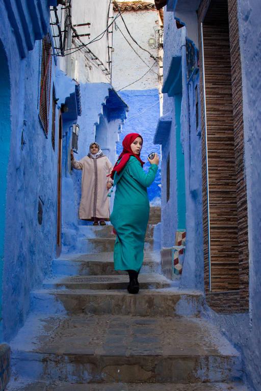 Cores e tipos do Marrocos