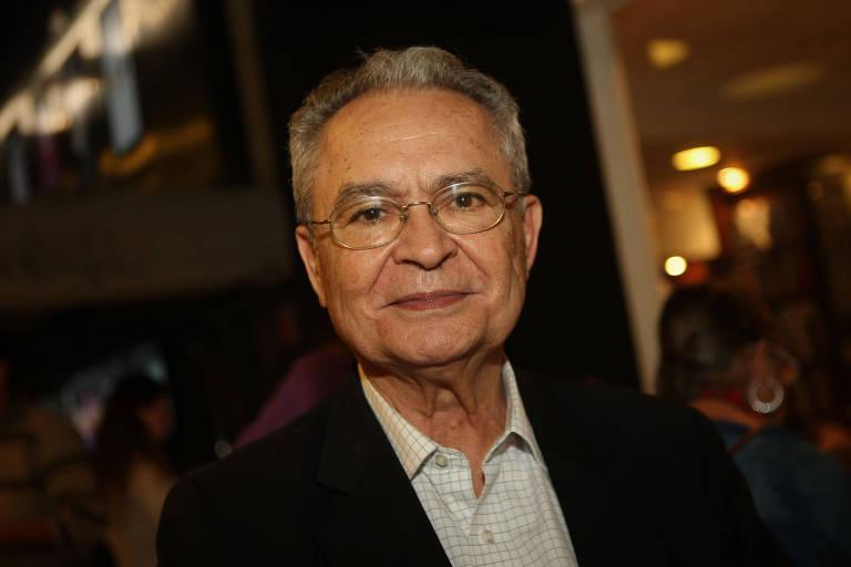 O jornalista Sinval de Itacarambi Leão, em foto de 2013