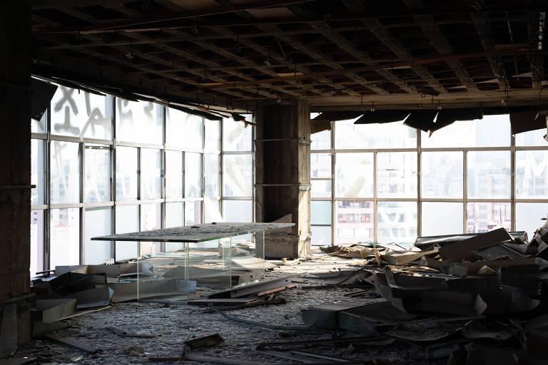 Edifício Wilton Paes de Almeida já mostrava danos em 2015