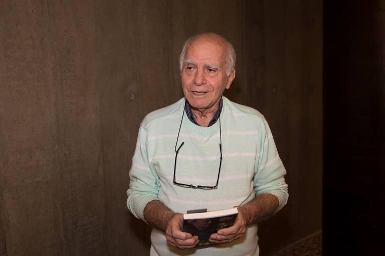 O escritor Ignácio de Loyola Brandão, em 2018