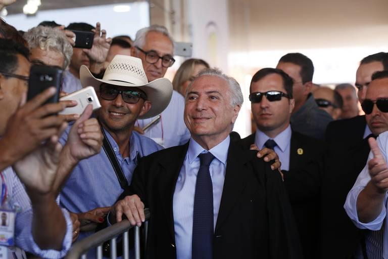 <strong>Presidenciáveis e pré-candidatos ao governo de SP visitam feira ruralista</strong>