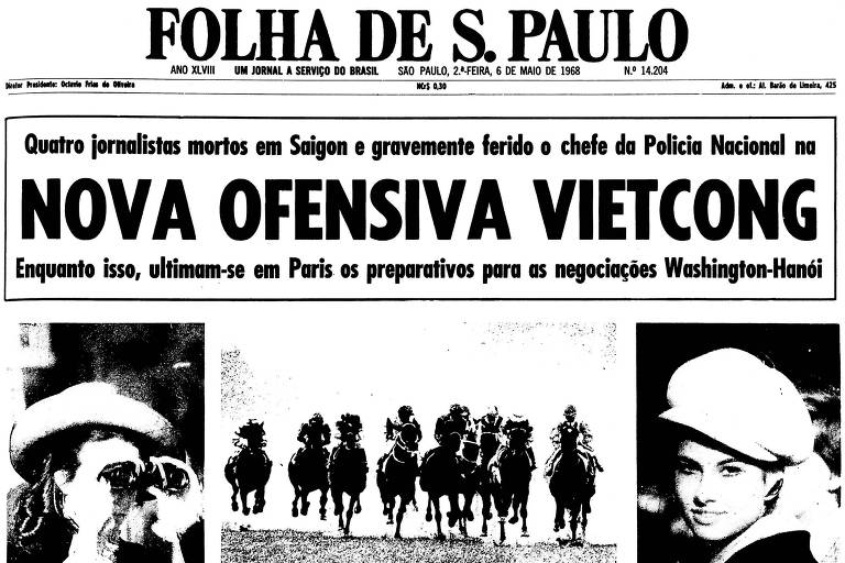 1968: Emboscada vietcongue mata quatro jornalistas em distrito de Saigon