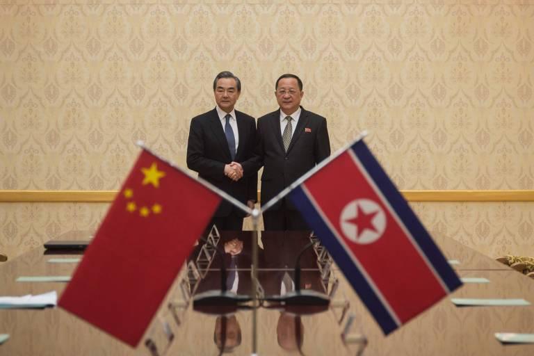 24d21b7de China busca reforçar laços com Coreia de Norte antes de reunião com ...