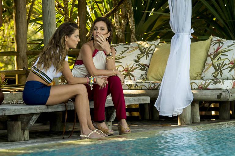 Laureta (Adriana Esteves) será uma cafetina de luxo e manipulará Karola (Deborah Secco) em Segundo Sol