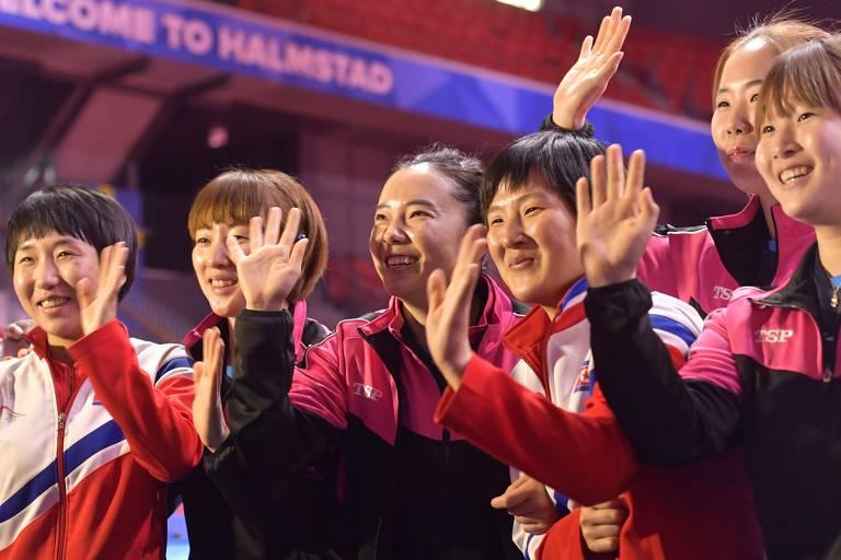 Coreias decidem formar time unificado no Mundial de tênis de mesa