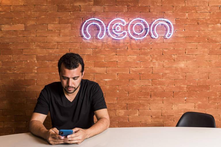 Pedro Conrade, presidente da Neon Pagamentos, que usava o Banco Neon para operar