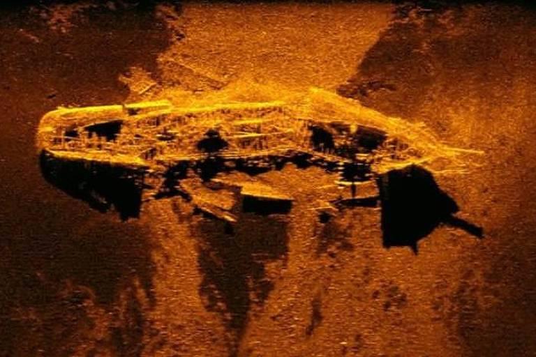 Os navios naufragados no século 19 encontrados nas buscas pelo voo MH370, desaparecido em 2014
