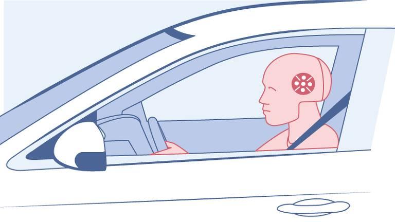 Como funciona o airbag?