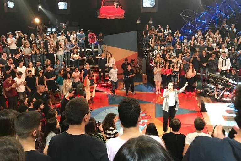 Ivete Sangalo participa do programa Altas Horas