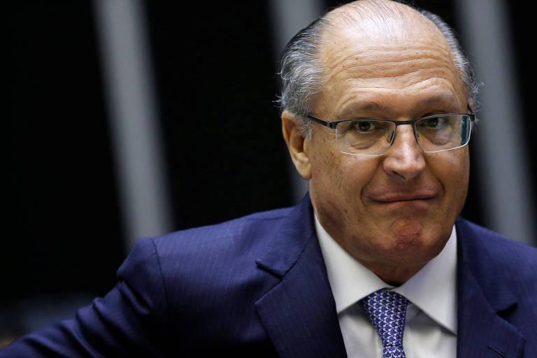 O pré-candidato tucano à Presidência, Geraldo Alckmin