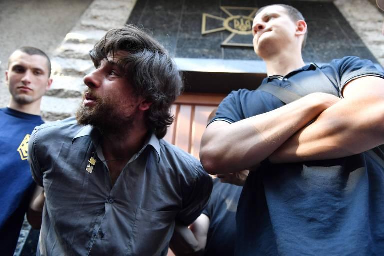 Brasileiro é capturado por nacionalistas na Ucrânia