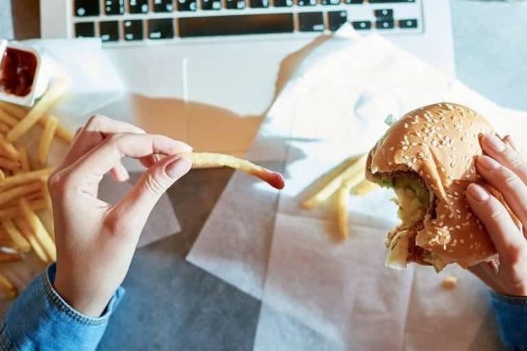 Entrevistadas que comiam fast food com muita regularidade demoravam mais para engravidar