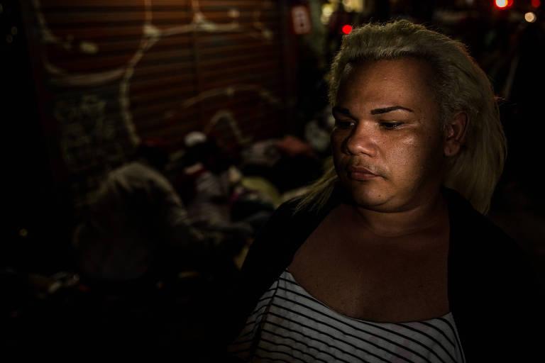 Thabhatha Marques Freire, 30, morava no quarto andar do edifício Wilton Paes de Almeida, no largo Paissandu