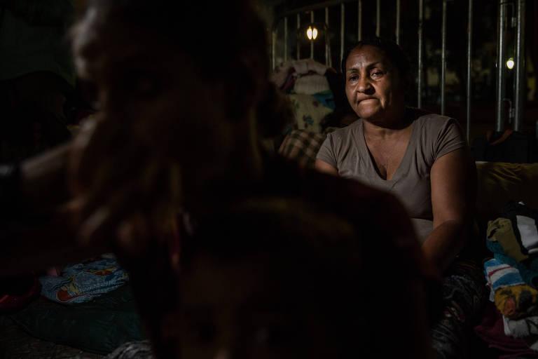 Neuza Cavalcante de Souza, 55, morava com seu filho no térreo do edifício Wilton Paes de Almeida, no largo Paissandu