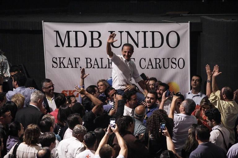 MDB lança pré-candidatura de Skaf ao governo de SP