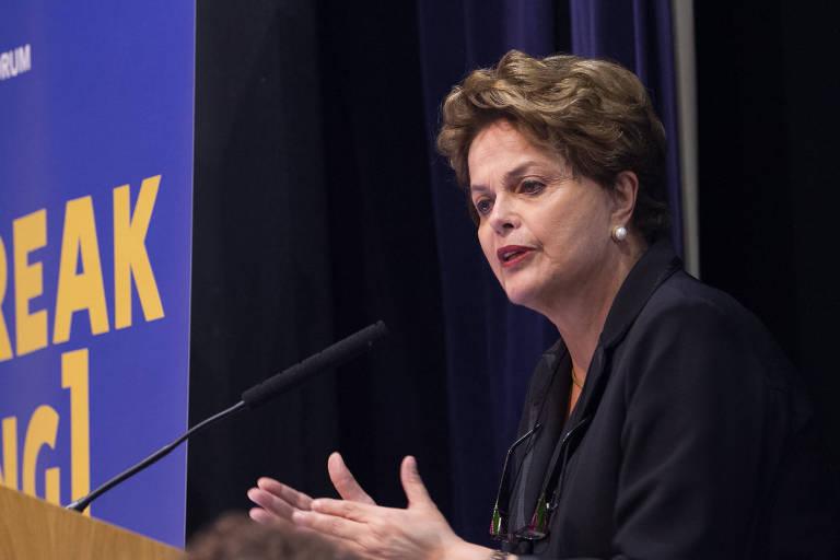 Em Londres, Dilma diz que o PT não vai tirar Lula das eleições de 2018