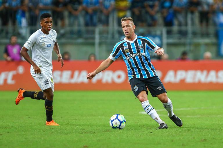 Santos é goleado pelo Grêmio e pode ir à zona de rebaixamento - 06 ... 66491758a2d0d