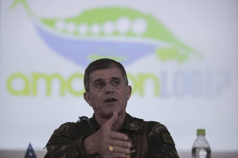 O secretário nacional de Segurança Pública, general Theophilo
