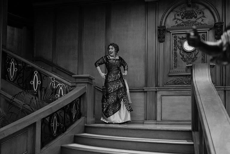 Adele fantasiada de Rose em sua festa de 30 anos