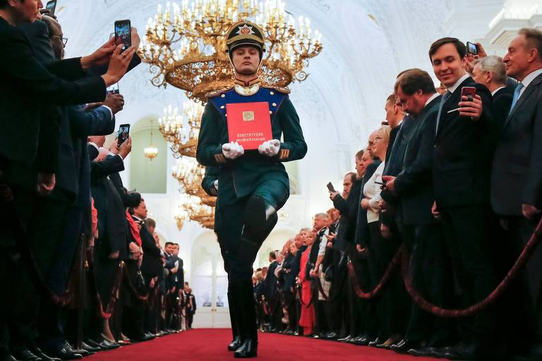 Putin toma posse para quarto mandato na Rússia