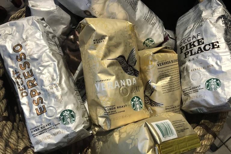 Cafés da Starbucks para venda em Nova York