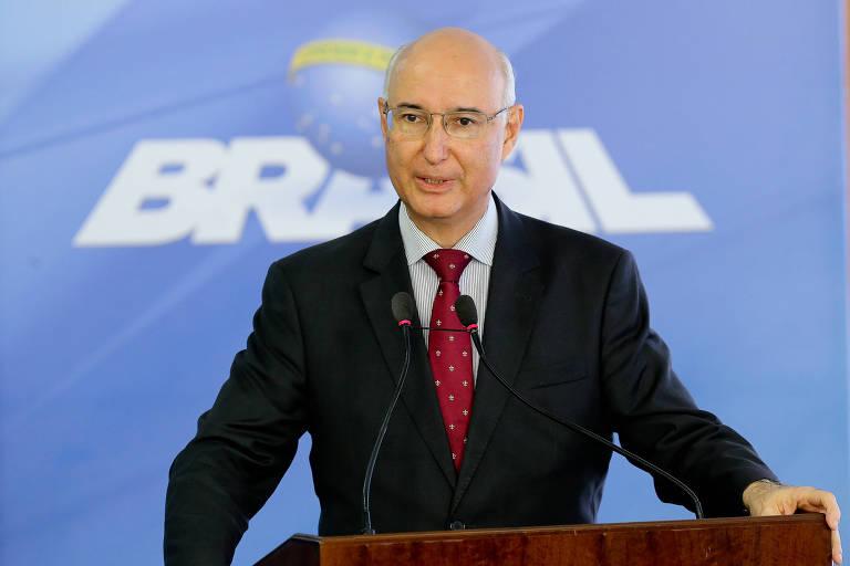 Ives Gandra Martins Filho, ex-presidente do Tribunal Superior do Trabalho, em cerimônia em Brasília