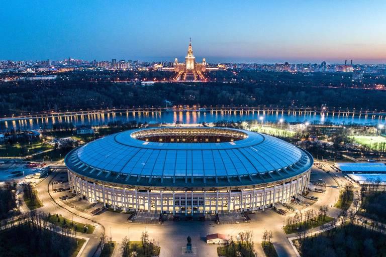 Estádios da Copa - Estádio Lujniki